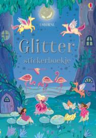 Glitterstickerboekje