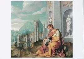 St. Agnes, Giovanni Battista Moroni