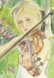 Vioolspel, Anne Wenzel