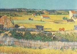 Vlakte van La Grau, Vincent van Gogh