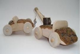 Boomblok takelagen ( Noest atelier)  zonder de sportauto!