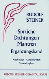 Sprüche - Dichtungen - Mantren. Ergänzungsband  GA 40a / Rudolf Steiner