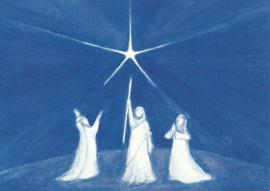 Januari, Driekoningen, maandkaart Heike Stinner