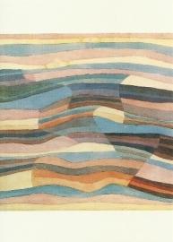 Bewogen vlakken, Paul Klee