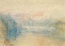 Vierwoudstedenmeer, zonsondergang, Joseph Mallord William Turner