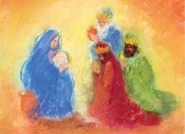 Aanbidding der koningen, Marjan van Zeyl