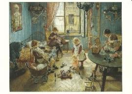 Kinderkamer, Fritz von Uhde