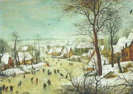 Winterlandschap met schaatsers, Pieter Brueghel de Jongere