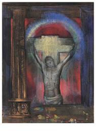 Kruisbeeld, Odilon Redon