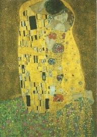 De kus, Gustav Klimt