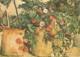 Petunia's, Paul Cézanne