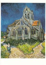 Kerk van Auvers, Vincent van Gogh
