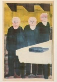 De drie aartsvaders, proefdruk van de tweede serie, Hendrik Nicolaas Werkman