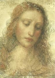 Christus bij het avondmaal (detail), Leonardo da Vinci