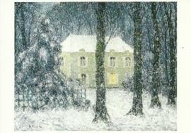 Winteravond, Henri le Sidaner