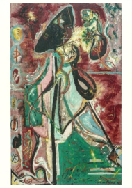 Maanvrouw, Jackson Pollock