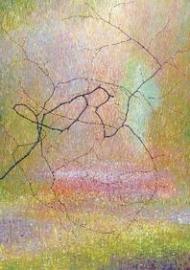 Hazelaar in oranje-geelgroen, Jos van Wunnik