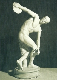Discuswerper van Myron, Grieks