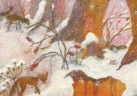 Vos in de sneeuw, Daniela Drescher