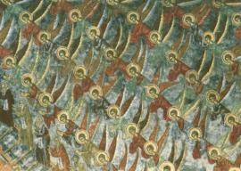 Deugden ladder, fresco