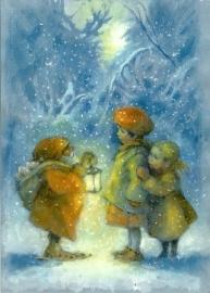 Kerstkabouter ontmoet kinderen, Elisabeth Nyman