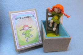 Pippi Langkous in een doosje (zelfmaakpakketje)