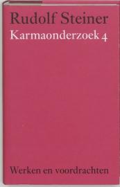 Karmaonderzoek 4 / Rudolf Steiner