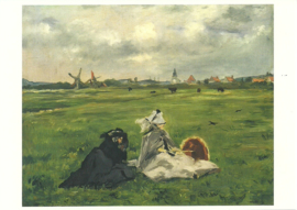 De zwaluwen, Edouard Manet