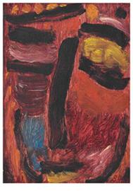 Meditatie: Rode harmonie, Alexej von Jawlensky