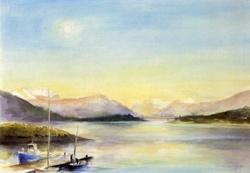 Zonsondergang, David Newbatt