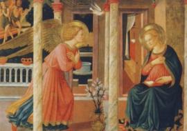 Verkondiging aan Maria, Fra Angelico