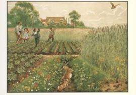 Junimorgen in de bouwlanden, Cornelis Jetses