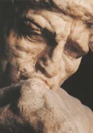 De denker (detail2), Auguste Rodin