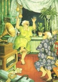 Dansende vrouwen, Inge Löök
