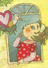 Vogel bij het venster, Selda Soganci