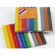 Kneedwas Weible 10 glitter kleuren 150 g