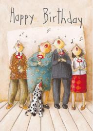 Happy Birthday, Helga Bansch