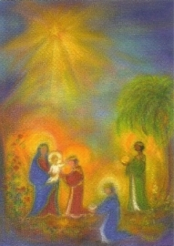 Aanbidding der Koningen, Gertraud Kiedaisch