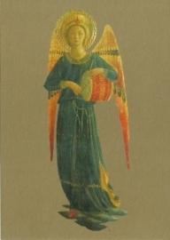 Musicerende engel trommel, Fra Angelico
