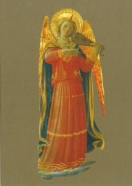 Musicerende engel viool, Fra Angelico