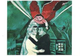 De bruiloft, Marc Chagall