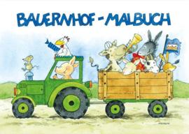 Kleurboek boerderij A5