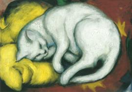 De witte kater, Franz Marc
