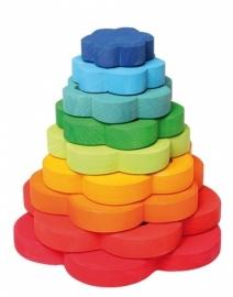 Regenboog Bloementoren 9 delig