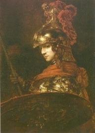 Alexander de Grote/Pallas Athene, Rembrandt