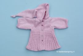 Roze jas,patroon