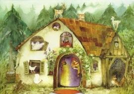 Betoverd huis, draaikaart Christiane Lesch