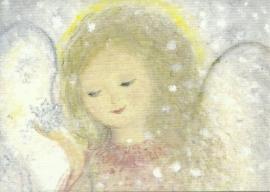 Januari engel, maandkaart, Eriena Blaffert