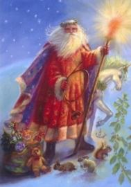 Kerstman & eenhoorn, Judy Mastrangelo