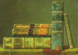 Volumes in green (detail), G. Renshof